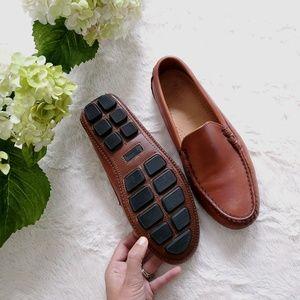 Allen Edmonds Leather Slip on Moccasins